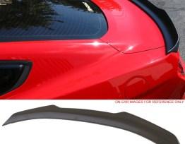 High Kick V Painted Trunk Spoiler #J7 Magnetic Metallic | 2015-19 Mustang