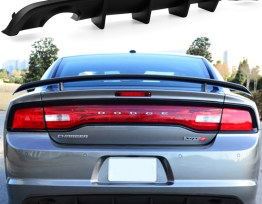 SRT V2 Style Single Tip Diffuser | 2012-14 Charger