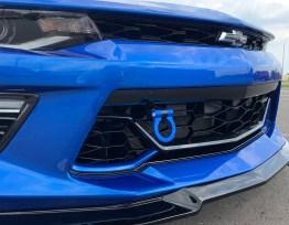 Hyper Blue Aluminum Tow Hook | 2016-2020 Chevy Camaro