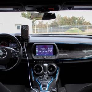 Carbon Fiber Passenger Dashboard Cover | 2016-2021 Chevy Camaro