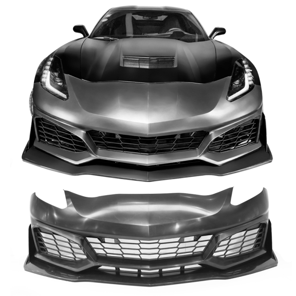 C7 ZR1 Front Bumper Kit   2014-2019 Chevy Corvette