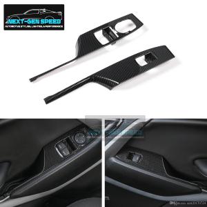 Carbon Fiber Window Switch Panels | 2016-2020 Chevy Camaro