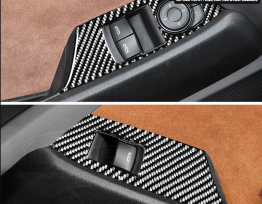 Next-Gen Carbon Fiber Window Switch Covers | 2016-2020 Camaro