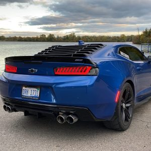 SPEC-D Smoked Sequential Tail Lights | 2016-18 Chevy Camaro
