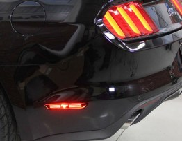 Smoked Mustang LED Side Markers | 2015-2020 Ford Mustang