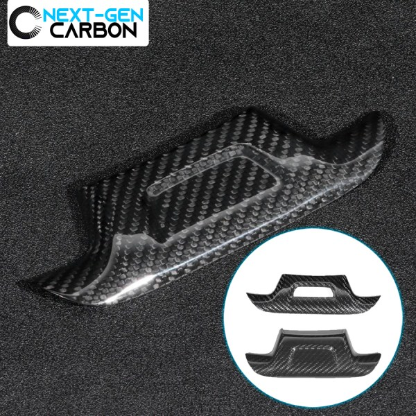 Real Carbon Fiber Steering Wheel Panel Cover | 2016-2021 Camaro