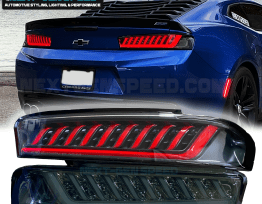 SPEC-D Smoked Sequential Tail Lights   2016-18 Camaro