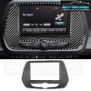 Real Carbon Fiber 7″ Radio Trim Cover | 2016-2020 Camaro