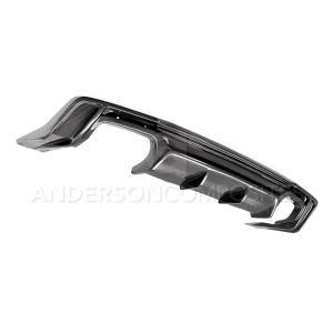 Carbon Fiber Quad Tip Rear Diffuser – 2016-2020 Camaro | Anderson Composites