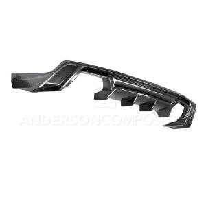 Carbon Fiber Rear Diffuser – 2017-2020 Camaro ZL1/ZL1 1LE | Anderson Composites