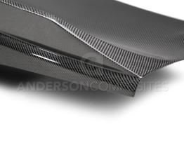 Double Sided Carbon Fiber Decklid w/ Spoiler – 2016-2020 Camaro | Anderson Composites