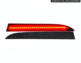 LED Smoked Rear Bumper Reflectors   2016-2020 Camaro