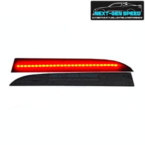 LED Smoked Rear Bumper Reflectors | 2008-2009 Pontiac G8
