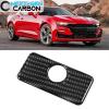 Real Carbon Fiber Glove Box Handle Cover   2016-2020 Camaro