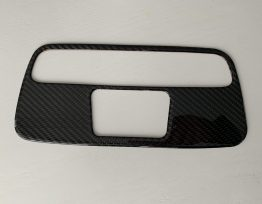 Real Carbon Fiber Upper Console/Light Cover | 2016-2021 Camaro
