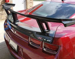 C7Carbon 5th Gen ZL1 1LE Wing Spoiler – Carbon Fiber   2010-2013 Camaro