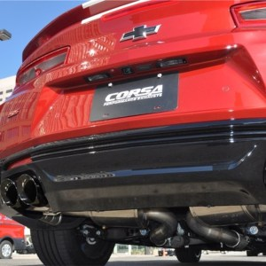 Corsa XTREME Cat-Back Exhaust System – 2016-2021+ Chevy Camaro SS/ZL1