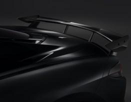 High Wing Spoiler (Gloss Black) | 2020+ Chevy Corvette C8 (84183461)