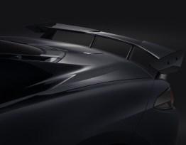 High Wing Spoiler (Shadow Gray Metallic GJI) | 2020+ Chevy Corvette C8 (84857289)