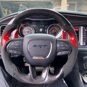 Carbon Fiber Steering Wheel | 2015-2020 Dodge Charger/Challenger