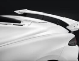 High Wing Spoiler (Arctic White G8G) | 2020+ Chevy Corvette C8 (84183465)