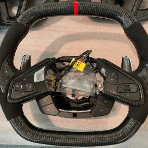 Carbon Fiber Steering Wheel (Complete) | 2020 – 2021 Chevy Corvette C8