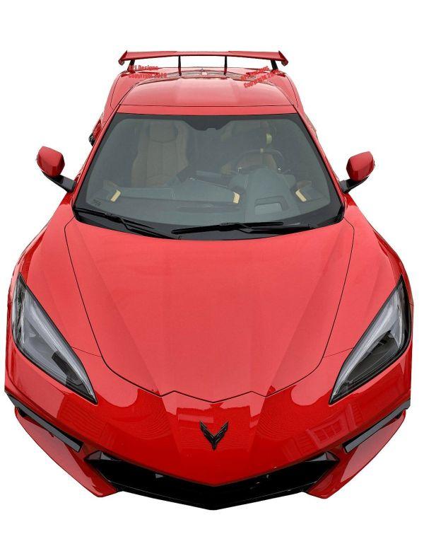 Painted Next Gen High Rise Wing Spoiler | 2020+ Chevy Corvette C8