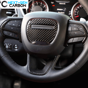 Colored Steering Wheel Cover Kit | 2015-2020 Dodge Challenger/Charger