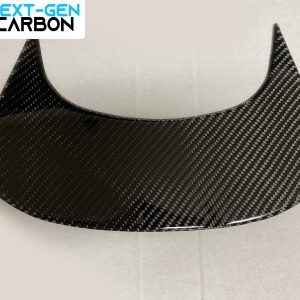 Carbon Fiber Console Rear Panel | 2014-2019 Chevy Corvette C7