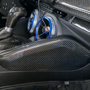 Carbon Fiber Knee Pad Covers | 2016-2021+ Chevy Camaro