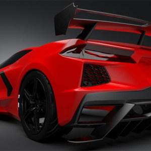 Carbon Fiber Race Edition High Wing Spoiler | 2020+ Chevy Corvette C8