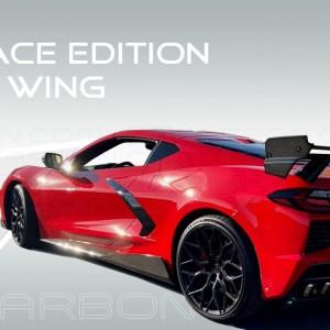 C7Carbon Race Edition High Wing Spoiler | 2020+ Chevy Corvette C8