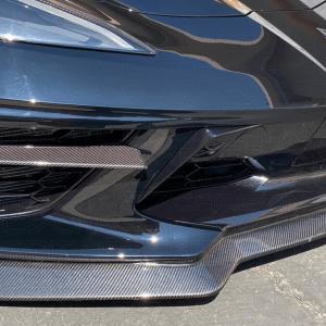 Carbon Fiber Grille Bezel Inserts | 2020+ C8 Corvette – C7Carbon