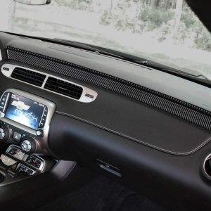 Carbon Fiber Dashboard Overlay Kit | 2010-2015 Chevy Camaro