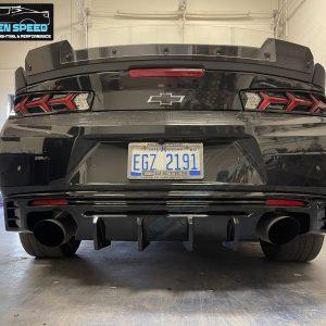 Gloss/Matte 3PC Quad Tip Diffuser | 2016 – 2021+ Chevy Camaro