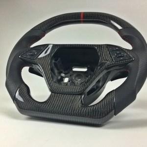 Custom Carbon Fiber Steering Wheel | 2014-19 Chevy Corvette C7