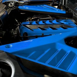 Painted Engine Bay Compartment Covers | 2020+ Chevy Corvette C8