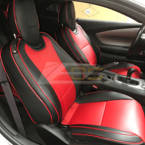 Artificial Leather Seat Covers | 2010-2015 Chevy Camaro