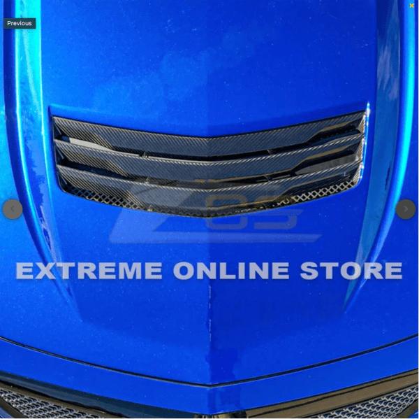 Carbon Fiber Hood Vent – Cadillac CTS-V 2016-2019