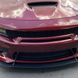 SRT Widebody Splitter Extension | 2019-2021 Dodge Charger