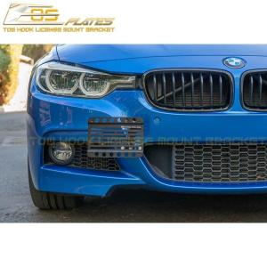 Tow Hook License Plate Mount Bracket | 2016-18 BMW 3-Series F30 / F31