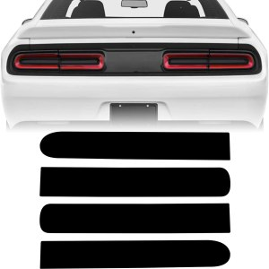 Precut Tail Light + Side Marker Tint   2015 – 2021 Dodge Challenger