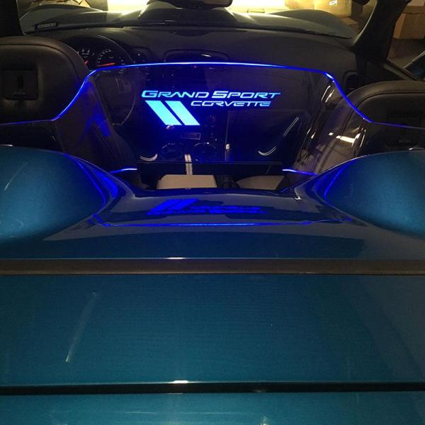 WindRestrictor® C6 Convertible Rear Add On Wind Deflector | 2005-2013 Corvette C6 Convertible Model