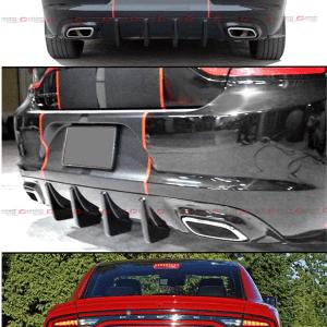 Rear Fin Diffuser | 2015-2021 Dodge Charger SXT/RT/GT
