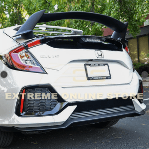 Type R Conversion Rear Trunk Spoiler Kit | 2016+ Honda Civic Hatchback