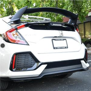 Type R Conversion Rear Trunk Spoiler Kit   2016+ Honda Civic Hatchback