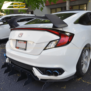 Type R Conversion Rear Trunk Spoiler Kit | 2016+ Honda Civic Coupe