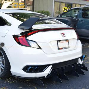 Type R Conversion Rear Trunk Spoiler Kit | 2016+ Honda Civic Coupe