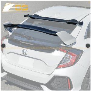 Type R Conversion Rear Spoiler W/ Spoon Roof Spoiler | 2016+ Honda Civic Hatchback