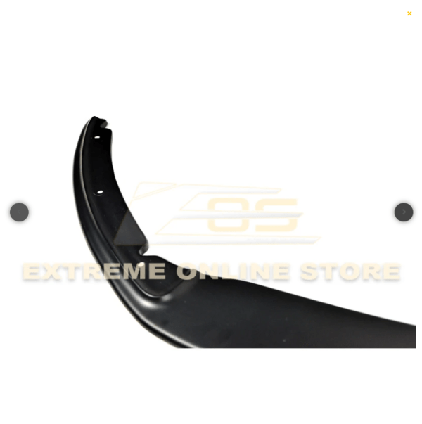 Carbon Fiber / Primer Black Front Splitter Lip | 13-14 Ford Focus ST